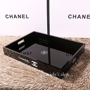 Other - Chanel Cosmetic Makeup Vanity Tray With Box